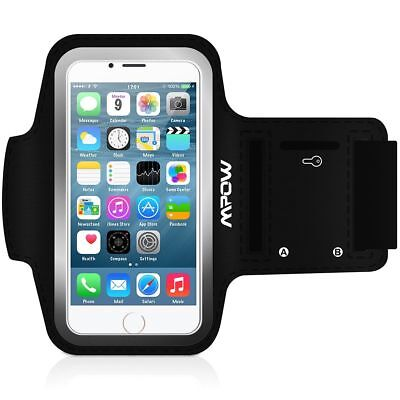 Mpow Sports Running Sweatproof Armband Case +Key Holder For iPhone 6S 6 7 US