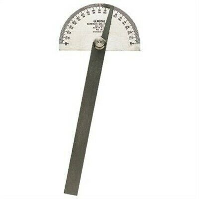 18 Protractor Rnd Hd, Pack of 2, PartNo 20, by General Tools Mfg