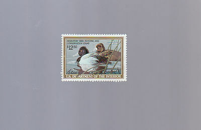 US Federal Duck Hunting Revenue Stamp RW56 – 1989 $12.50 Lesser Scaup USED