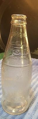 Old Vintage Antique 1978 Tab soda 10 oz clear glass bottle (RARE)