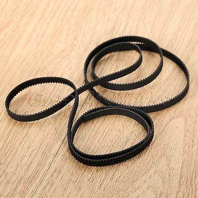 Black 1M/3.28FT GT2 Opening Timing Belt 6mm Wide 2mm Pitch For 3D Printer RepRap