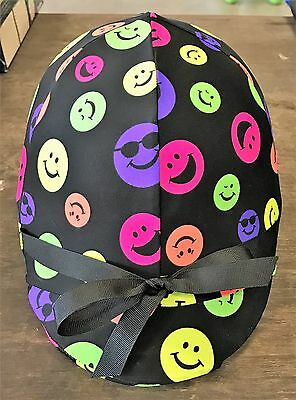 RIDING HELMET COVER - Smiley faces