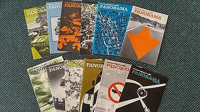 Vintage Porsche Panorama Magazines '74 - '82 & '86  complete.  MAKE AN OFFER!!!