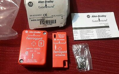 Allen Bradley GUARD MASTER  Magnetic Actuator Safety Switch 2A 440N-G02009