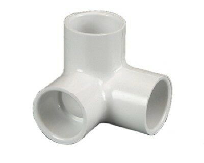 """NEW PVC Side Outlet Plain Elbow 20mm (3/4"""") 5 Pack"""
