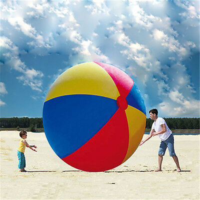 "Giant 12-Foot Beach Ball ""The Beach Behemoth"" Huge Fun Indoor/Outdoor Kids Party"