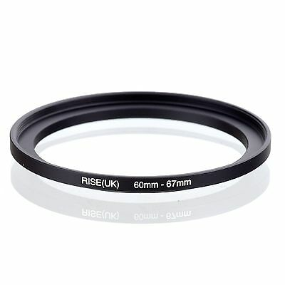 RISE(UK) 60-67 60-67mm 60mm to 67mm Matel Step Up  Ring Filter Adapter