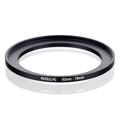 RISE(UK) 60-72 60-72mm 60mm to 72mm Matel Step Up  Ring Filter Adapter
