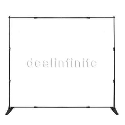 """8'x8' Banner Stand Adjustable Commercial Trade Show Exhibition Display 96""""x96"""""""