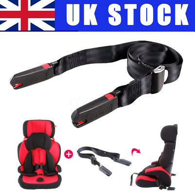 1PC Child Baby Car Isofix Safe Seat Strap Link Belt Adjustable Anchor Holder UK