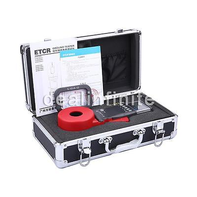 NEW ETCR2100A+ Digital Clamp On Ground Earth Resistance Tester Meter