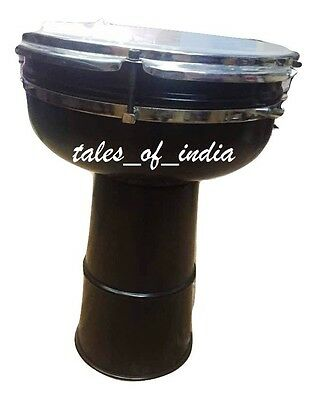 Djembe Drums~10inch~Handcrafted~Traditional Percussion Instrument~Bold Black