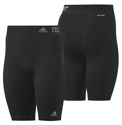 Adidas Techfit Preparation Base Layer Shorts Tights FITNESS FOOTBALL RUNNING