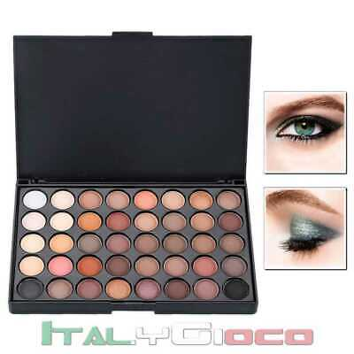 Palette con 40 Colori in Crema Make Up Trucco Ombretto Set Completo Eyeshadow