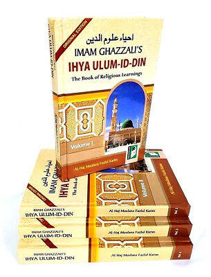 IHYA ULUM AD-DIN: Book of Religious Learnings (4 Vols - IBS) Imam Ghazzali