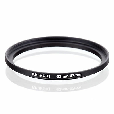 RISE(UK) 62-67 62-67mm 62mm to 67mm Matel Step Up  Ring Filter Adapter