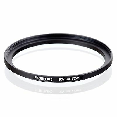 RISE(UK) 67-72MM 67 MM- 72 MM 67 to 72 Step Up Ring Filter Adapter
