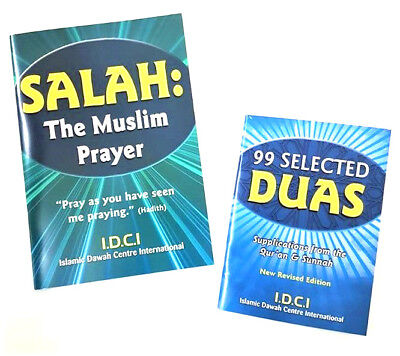 Salah: The Muslim Prayer / 99 Selected Duas - 2 Booklets (IDCI - Paperback)