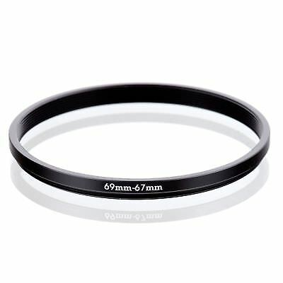69-67 69-67MM 69 MM- 67 MM 69 to 67 Step Down Ring Filter Adapter