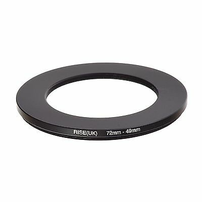 RISE(UK) 72-49MM 72 MM- 49MM 72 to 49 Step Down Ring Filter Adapter