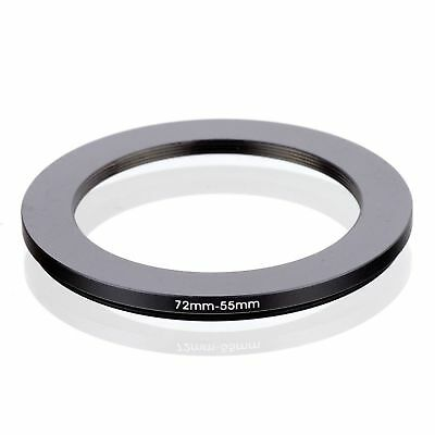 RISE(UK) 72-55MM 72 MM- 55 MM 72 to 55 Matel Step Down Ring Filter Adapter