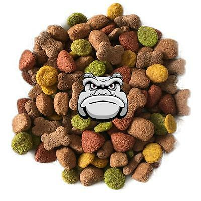 CHICKEN & VEG 'Meaty Mix' : Tasty Complete Dry Adult Working Dog food Biscuits