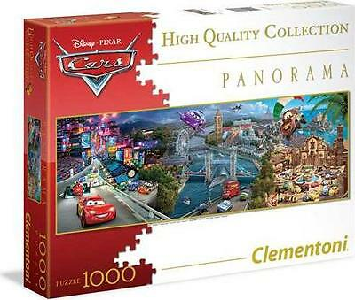 Clementoni 39348 Puzzle 1000 Teile Cars Collection Panorama