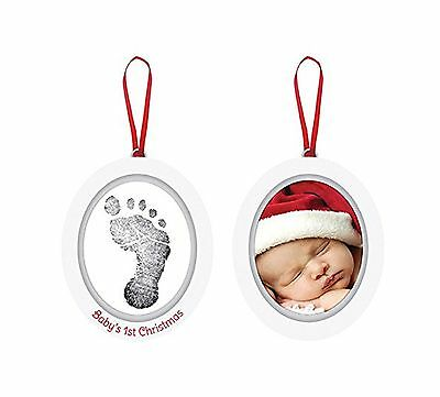 Pearhead Babyprints Newborn Baby Handprint or Footprint Double-Sided Photo Or...