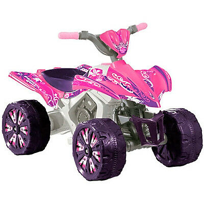 6V Xtreme Quad Battery-Powered Ride-On, Pink