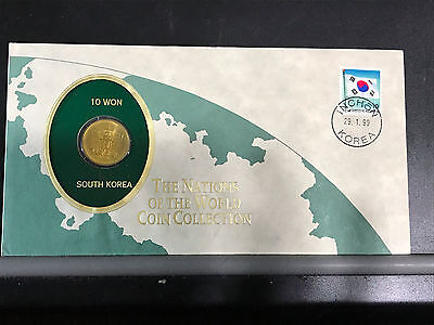 1983 South Korea 10 Won - The Nations Of The World Coin Collection