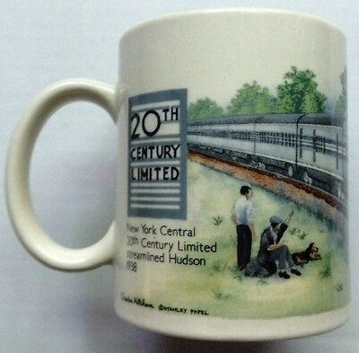 New York Central Railroad Railway Coffee Mug, 20Th Century Limited Train