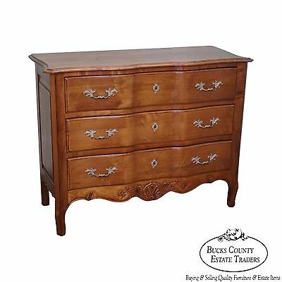 Ethan Allen Legacy Collection Serpentine Country French Chest of Drawers