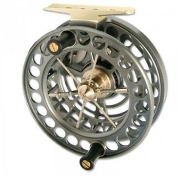 """J W Young Super Light Weight Unique Cageless Centrepin Reel 4.5"""" X 1"""""""