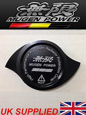 Black Mugen Radiator Cap Protection Cover HONDA Type R Civic Integra Ep Dc