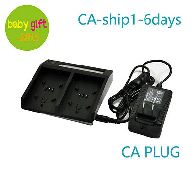 Battery Charger Dual for BP-U30 BP-U60 BP-U65 BP-U90 PMW-EX1 F3 100 200 150 160