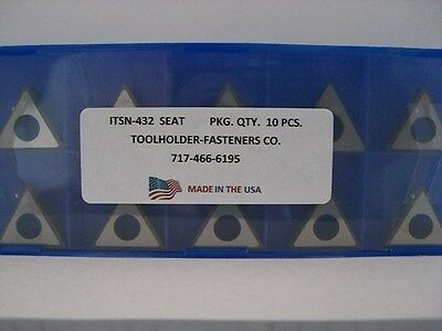 10 Pieces - ITSN-432 ... MTN-432 ... Shim Seat
