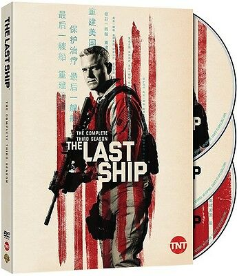 Last Ship: The Complete Third Season - 3 DISC SET (2017, DVD NUOVO) (REGIONE 1)