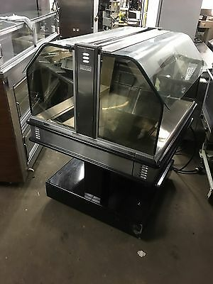 Henny Penny food Warmer Display Case Open Sides
