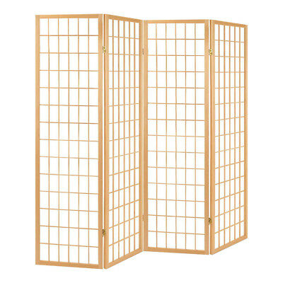 NEW 4 Panel Room Divider