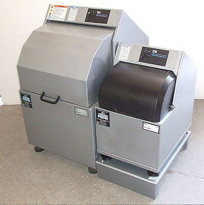 Remanufactured FM H-5 & V-Series paint shaker side by side combo