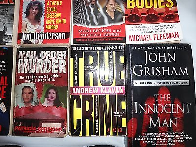 Lot Of 10 Paper Back Books True Crime Great Mix Of Authors Lot #4