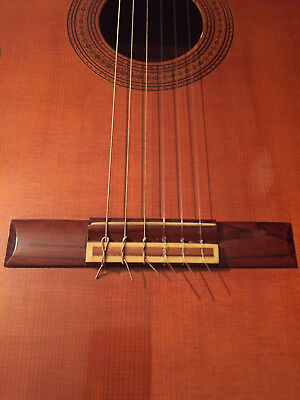 Crown classical guitar with case, Japan