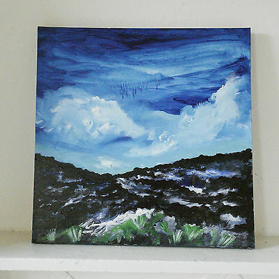 beautiful landscape painting original art canvas seascape picture wall gallery