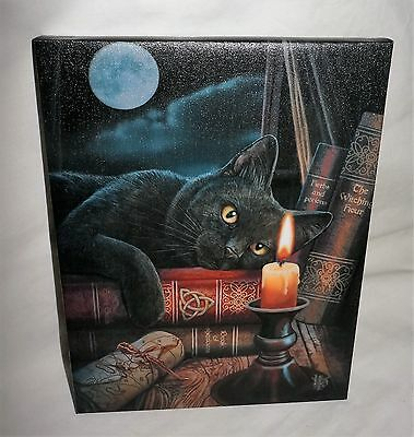 Witching Hour Canvas Plaque - Lisa Parker