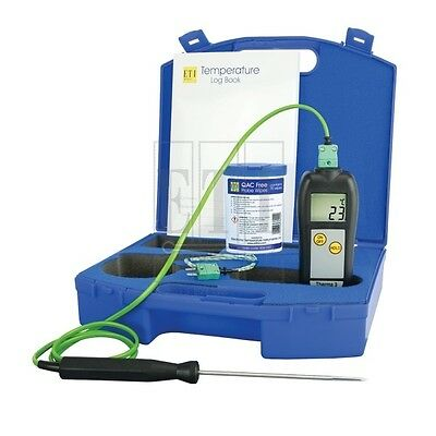 ETI Therma 3 Thermometer Kit in ABS Carrying Case BRAND NEW. RRP £89.40
