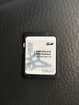 Ford Navigation SD Maps Card, Australia And NZ