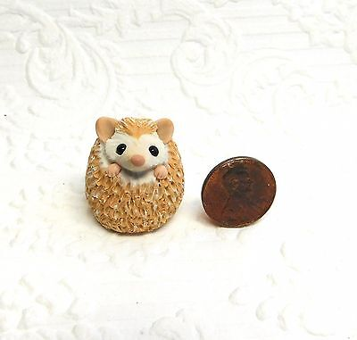Totem Hedgehog Totem Sculpture, Hedgehog gift, pocket pal by Raquel at theWRC