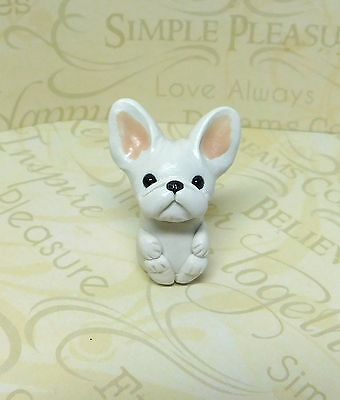 White French Bulldog pocket pal, Totem Frenchie by Raquel at theWRC