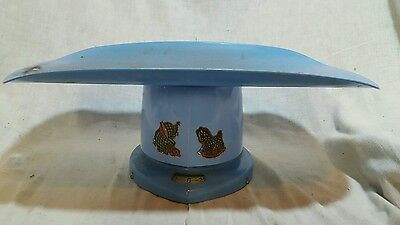Vintage antique  Blue Baby Scales
