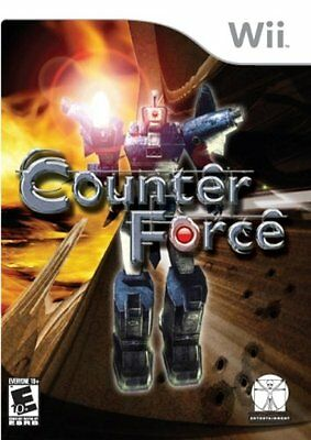 Counter Force Video Game For Nintendo Wii Console System